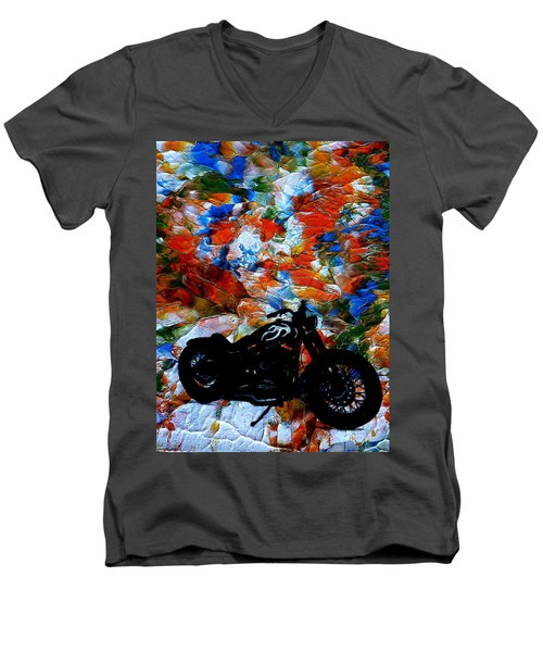 Dyna-might Men's V-Neck T-Shirt