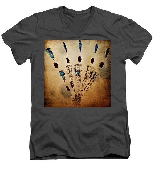 Dynamic Motion Men's V-Neck T-Shirt