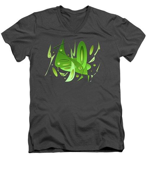 Dynamic Nature Men's V-Neck T-Shirt