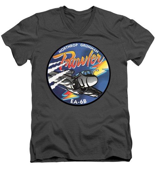 Ea-6b Prowler Men's V-Neck T-Shirt