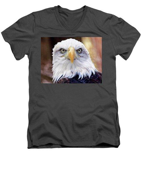 Eagle Eyes Men's V-Neck T-Shirt