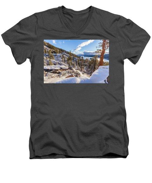 Eagle Falls Men's V-Neck T-Shirt