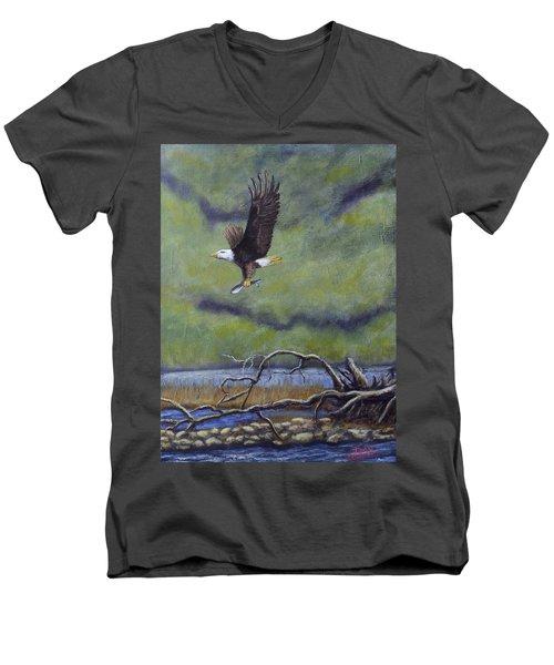 Eagle River Men's V-Neck T-Shirt