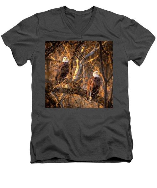 Eagles Men's V-Neck T-Shirt