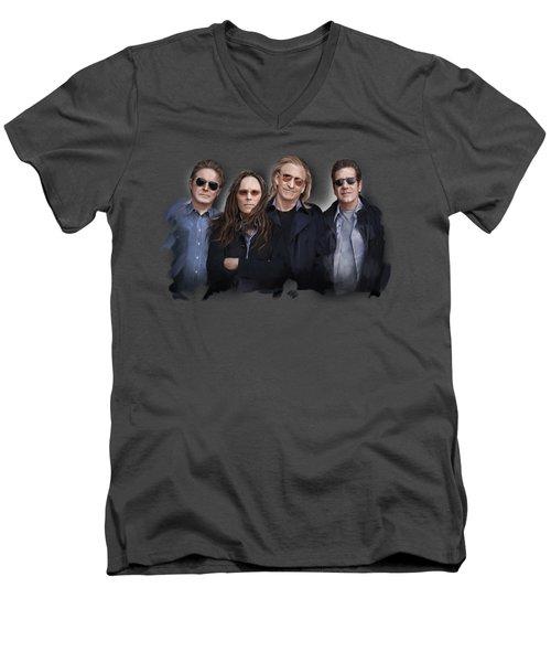 Eagles Band Men's V-Neck T-Shirt
