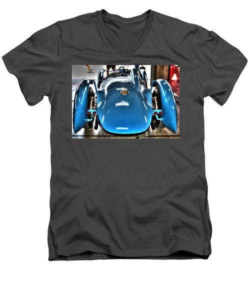 1937 Delahaye Type 145 Men's V-Neck T-Shirt