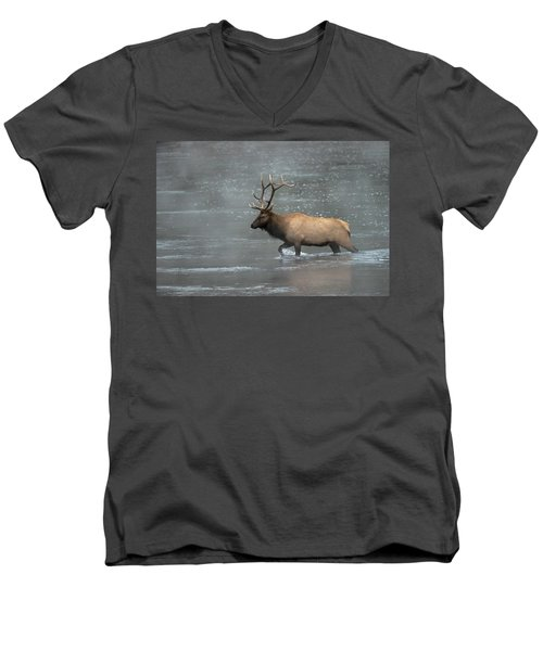 Early Crossing Men's V-Neck T-Shirt