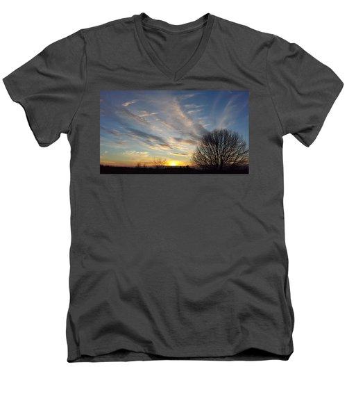 Early Evening Men's V-Neck T-Shirt