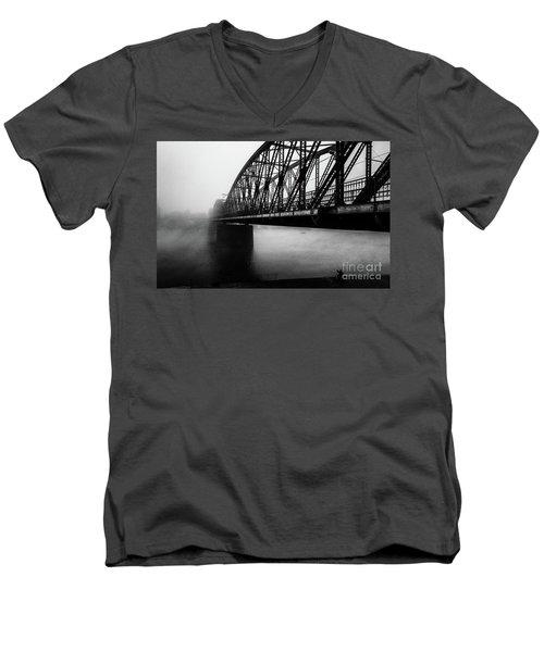 Early Morning Fishermen Men's V-Neck T-Shirt