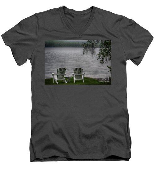 Early Mornong Fog Men's V-Neck T-Shirt