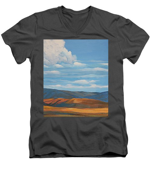 Early Summer Blue Hills Men's V-Neck T-Shirt