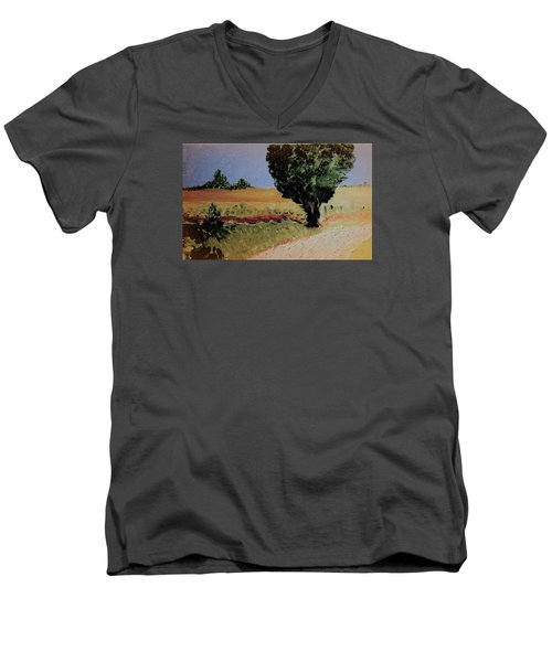 Early Sunday Morning Men's V-Neck T-Shirt by Bill OConnor