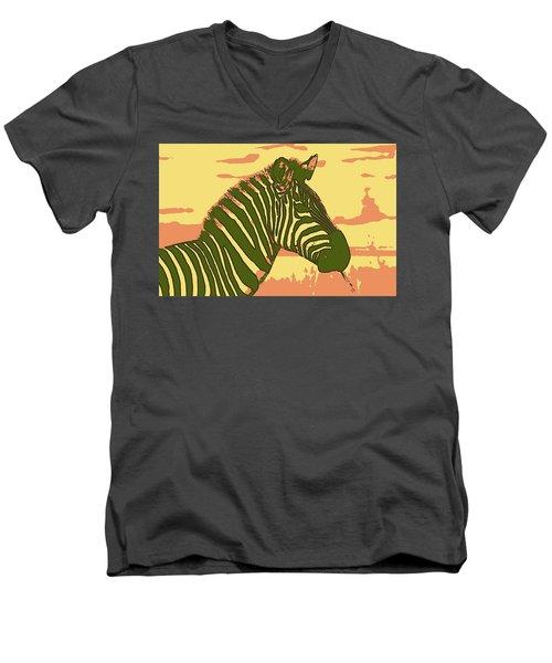 Earned Stripes Men's V-Neck T-Shirt