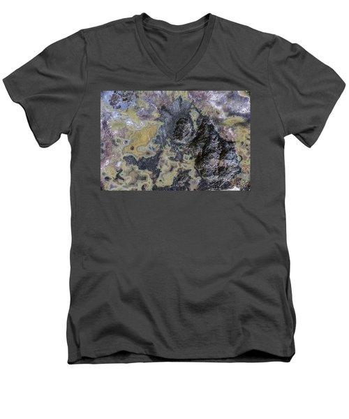 Earth Portrait 001-168 Men's V-Neck T-Shirt