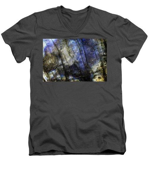 Earth Portrait 001-69 Men's V-Neck T-Shirt