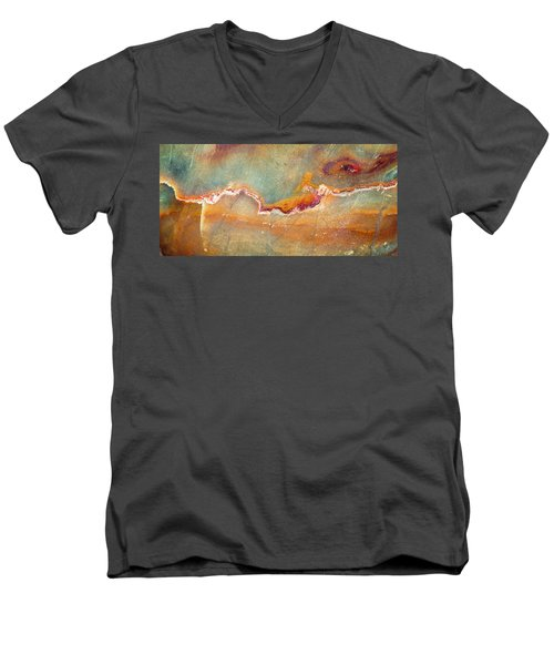 Earth Portrait 001-98 Men's V-Neck T-Shirt