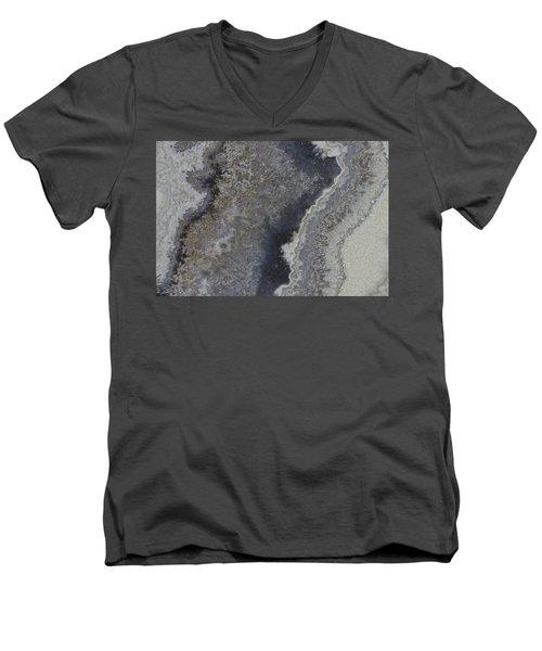 Earth Portrait 001 Men's V-Neck T-Shirt