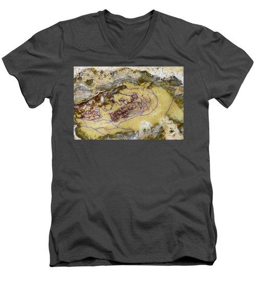 Earth Portrait 007 Men's V-Neck T-Shirt