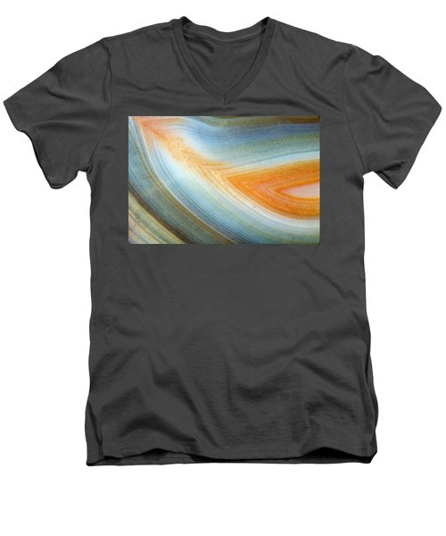 Earth Portrait 092 Men's V-Neck T-Shirt