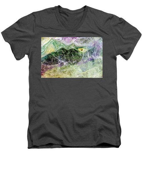 Earth Portrait 268 Men's V-Neck T-Shirt