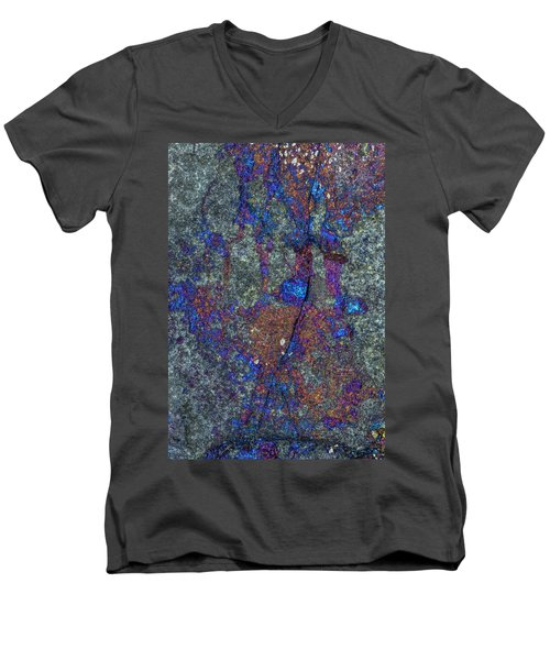 Earth Portrait 288 Men's V-Neck T-Shirt