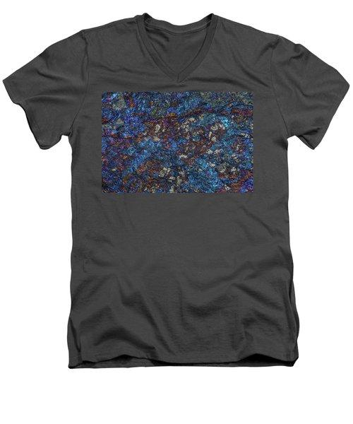 Earth Portrait Men's V-Neck T-Shirt