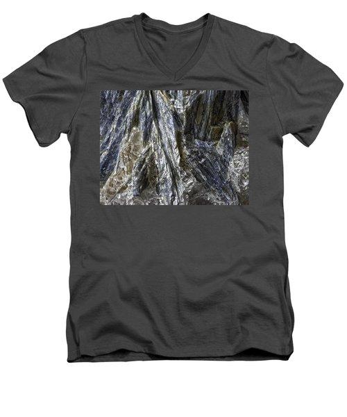 Earth Portrait Kyanite 001-089 Men's V-Neck T-Shirt