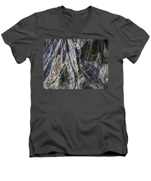 Earth Portrait Kyanite 001-089 Men's V-Neck T-Shirt