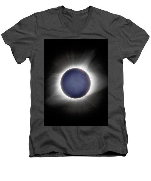 Earth-shine Men's V-Neck T-Shirt