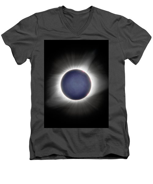 Earth-shine Men's V-Neck T-Shirt