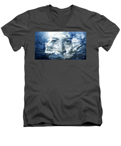 Earth Wind Water Men's V-Neck T-Shirt