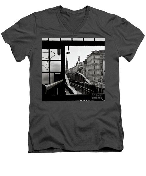 East Berlin Sound  Men's V-Neck T-Shirt