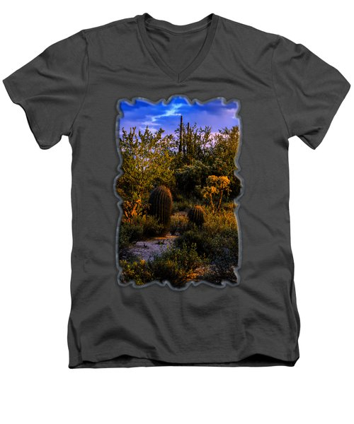East Of Sunset V40 Men's V-Neck T-Shirt