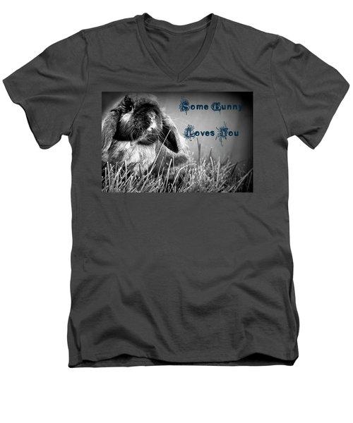 Easter Card Men's V-Neck T-Shirt