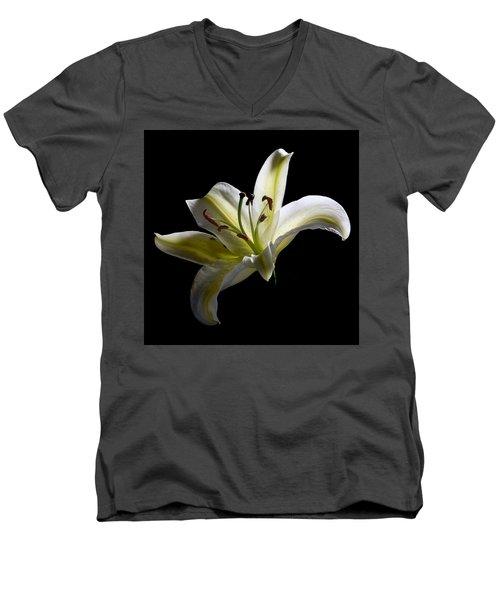 Easter Lily 2 Men's V-Neck T-Shirt