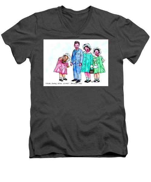 Easter Sunday - After Church Men's V-Neck T-Shirt