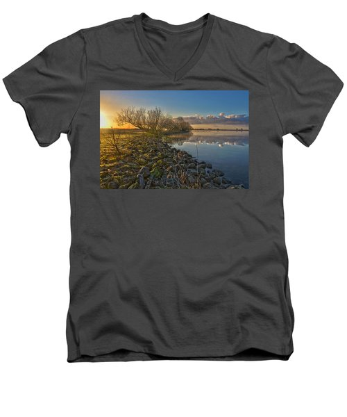 Easter Sunrise Men's V-Neck T-Shirt