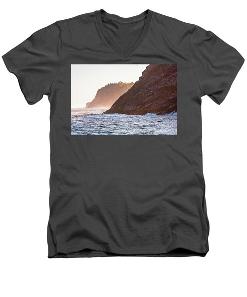 Eastern Coastline Men's V-Neck T-Shirt