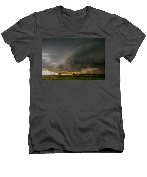 Eastern Nebraska Moderate Risk Chase Day Part 2 004 Men's V-Neck T-Shirt