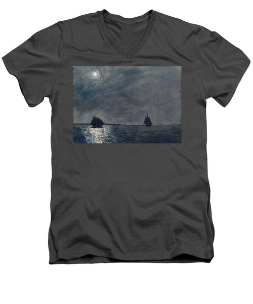 Eastern Point Light Men's V-Neck T-Shirt