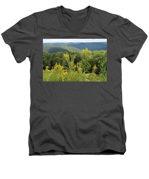 Eastern Summit 3 Men's V-Neck T-Shirt
