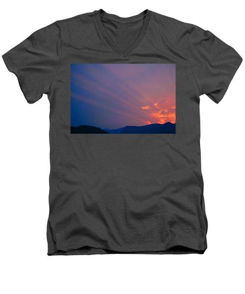Eastern Sunrise Men's V-Neck T-Shirt