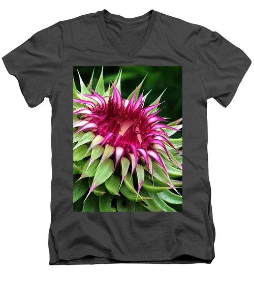 Easy To Slip Men's V-Neck T-Shirt