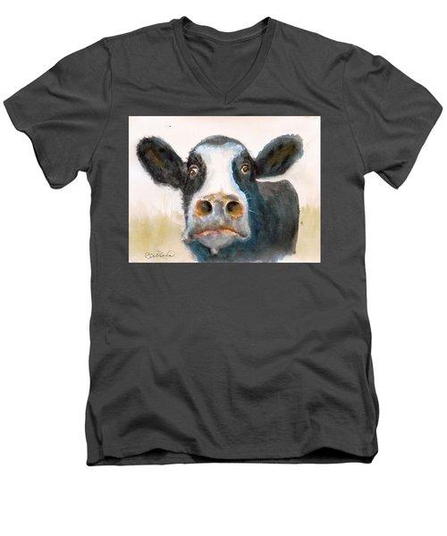 Eat More Chicken Men's V-Neck T-Shirt
