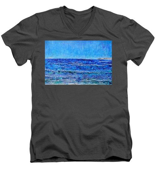 Ebbing Tide Men's V-Neck T-Shirt