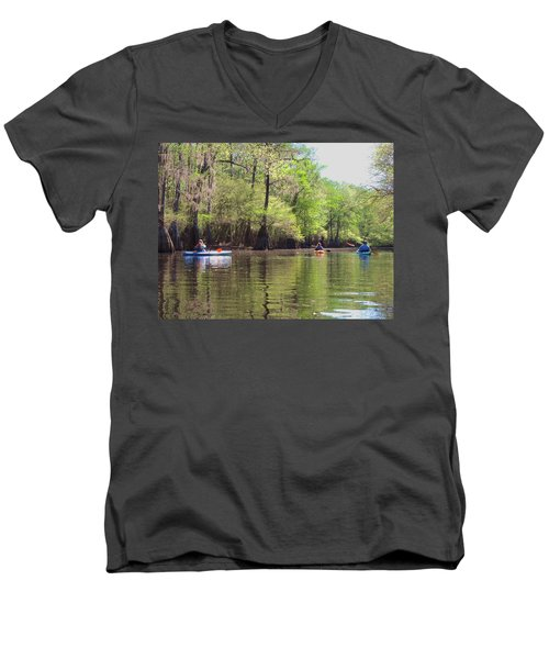 Ebenezer Creek Men's V-Neck T-Shirt