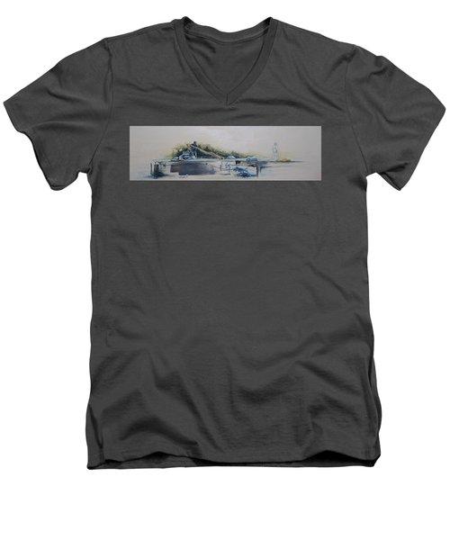 Echelon Men's V-Neck T-Shirt