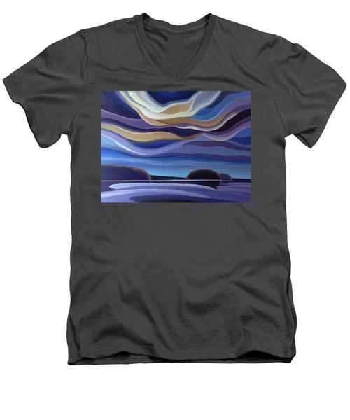 Echos Men's V-Neck T-Shirt