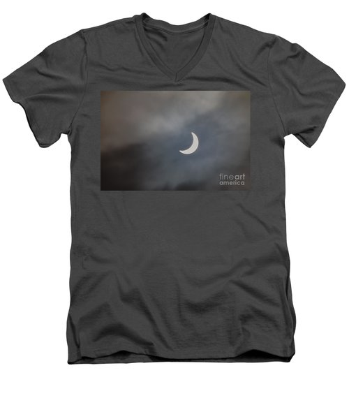 Eclipse 2015 - 2 Men's V-Neck T-Shirt