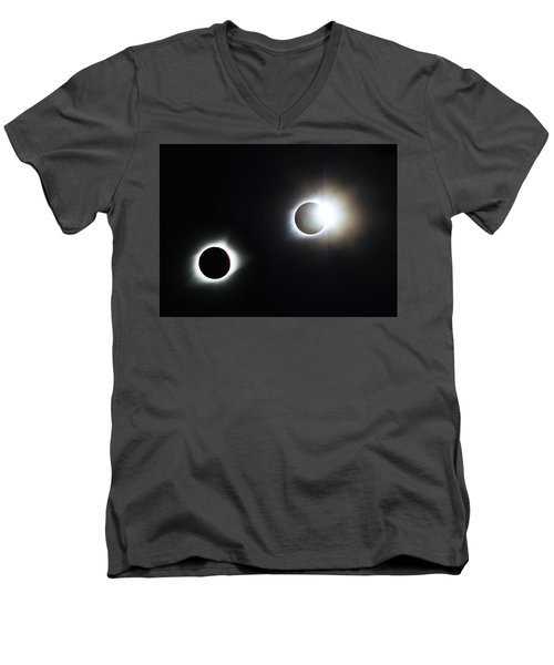 Totality Awesome Men's V-Neck T-Shirt